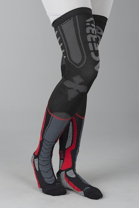 Acerbis X-Leg Pro Socks Black-Red