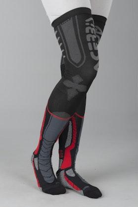 Ponožky Acerbis X-Leg Pro Černá-Červená