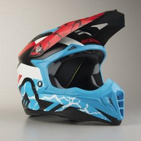 Acerbis Impact 3.0 Helmet Black-Blue