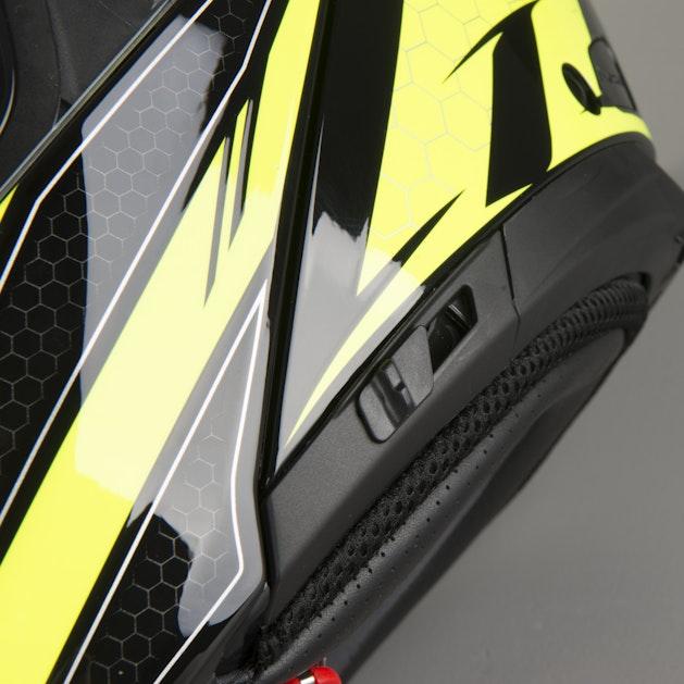 Airoh Phantom-S Evolve Yellow Gloss