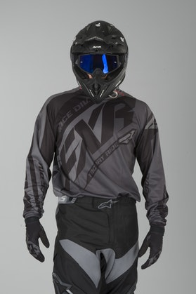 Bluza Cross FXR Clutch Prime Czarna Ops