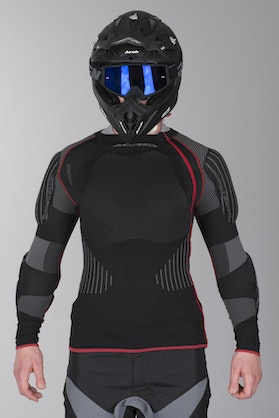 Acerbis X-Fit Pro Protective Jacket Black