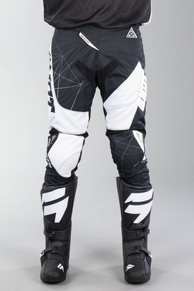 Shot Contact Infinite MX-Trousers Black-White