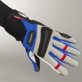 Rękawice Richa Dakar Niebiesko-Szaro-Czerwone