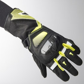 Rękawice Macna Airpack Czarno-Neonowo-Żółte