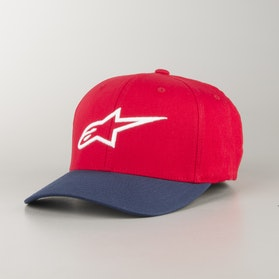 Alpinestars Ageless Curve Cap Red-Navy