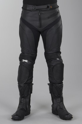 IXS Raul Leather Trousers Black