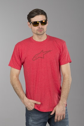 T-Shirt Alpinestars Ageless II Wrzosowo-Czerwnony