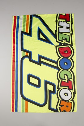 Flaga VR46 Valentino Rossi Mix Logo