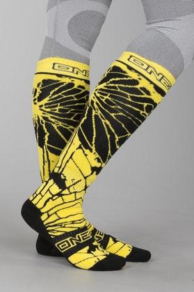 O'Neal Enigma Socks Black-HiVis