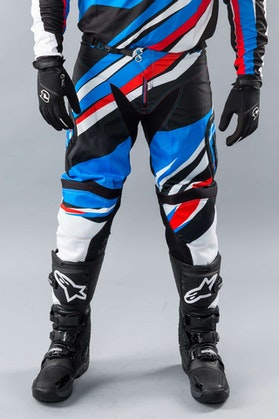 Acerbis X-Gear Trousers Blue-Red