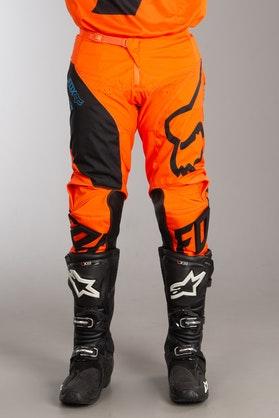Motokrosové Kalhoty Fox 180 Mastar MX 18 Oranžové