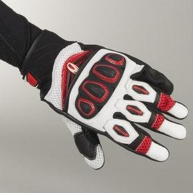 Rękawice Richa Turbo Czarno-Czerwono-Białe