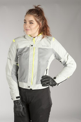 Acerbis Ramsey Vented Women's Jacket Grey