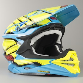 Kask Cross Shoei VFX-WR Glaive TC-2 Niebieski