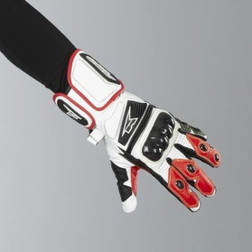 AXO KK4R HT Gloves White-Black