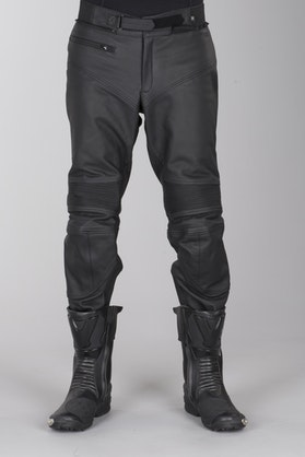 IXS Tayler Leather Trousers Black