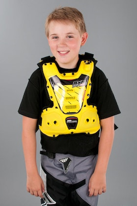 RXR Protect StrongFlex Chest Protector Yellow