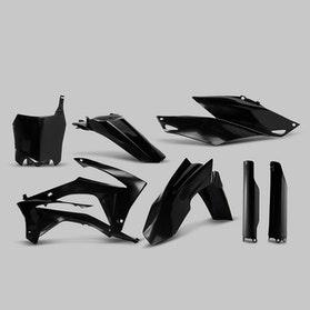 Komplet Plastikkit Acerbis Honda, Sort