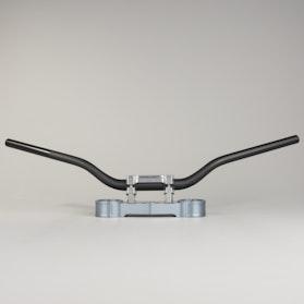 Kierownica LSL Superbike Czarna 28mm