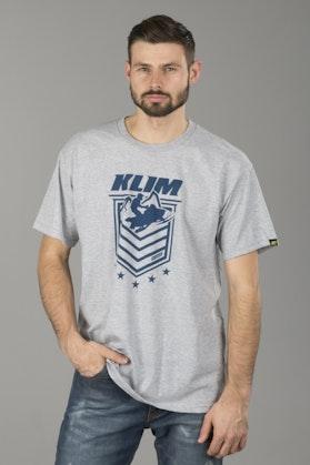T-Shirt Klim The General JasnySzary
