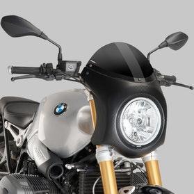 Owiewka Puig Retrovision BMW R NineT 14'-17' Karbon/Czarna