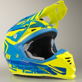 Acerbis Profile 3.0 S Helmet Yellow-Blue