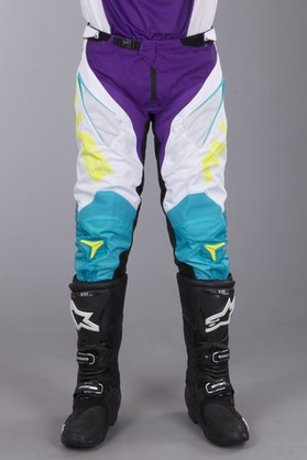 Alias A1 Classic MX Pants White-Aqua