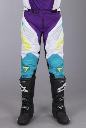 Alias A1 Classic MX Pants White-Aqua