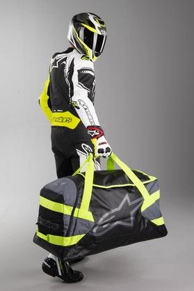 Taske  Alpinestars Goanna Duffle Bag, Sort/Neongul