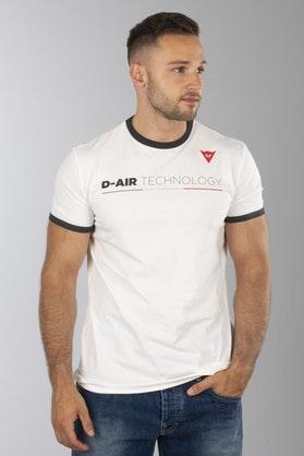 T-Shirt Dainese D-Air Biały
