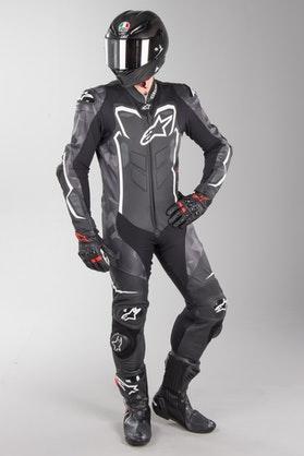 Alpinestars GP Plus Leather Suit Camo Black-White
