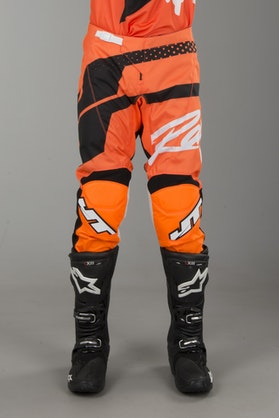 Crossbukser JT Racing Flex Hi-Lo FluoOrange-Sort