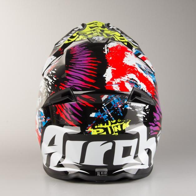 Airoh Twist Crazy Black Gloss