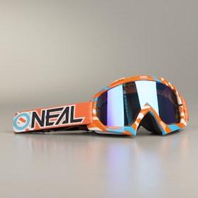 Gogle Cross O'Neal B-10 Stream Pomarańczowo-Niebieskie