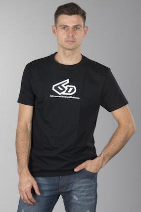 T-Shirt 6D Original Logo Czarny