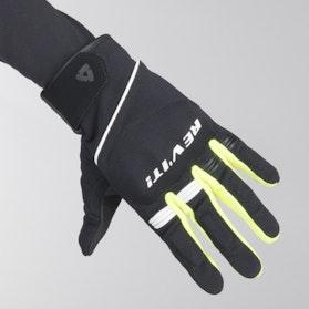 Revit Mosca Gloves Black-Neon Yellow