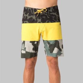 Fox Camino Stacker Board Shorts Yellow