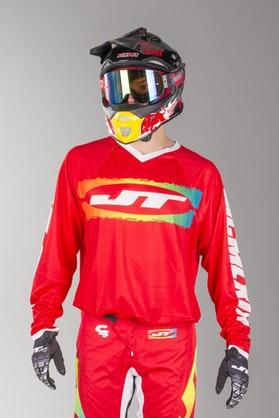 Bluza Cross JT Racing C4-Rasta REDMUL