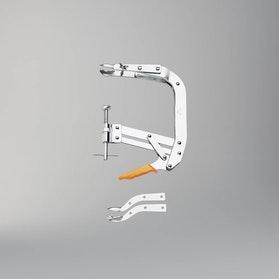 Ściskacz sprężyn zaworów o szczękach prostych i wygiętych Beta Tools