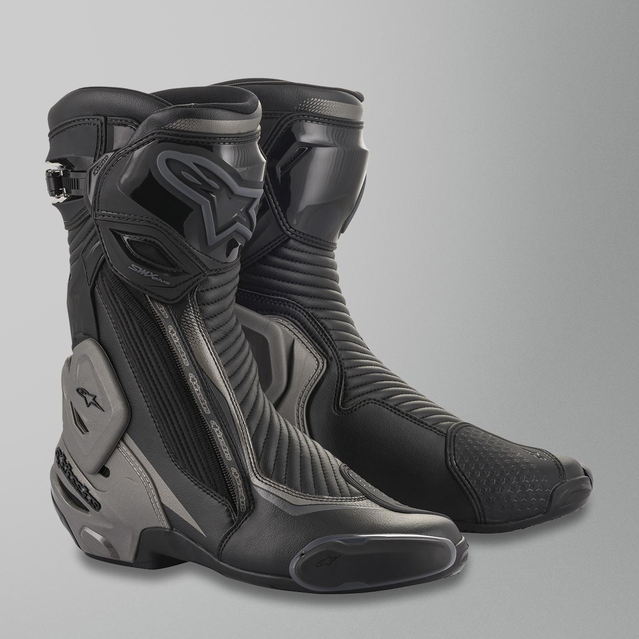 Alpinestars SMX Plus V2 MC Boots Black