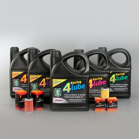 BO Racing 4 Lube Oil and 6-Pack of Twenty Oil Filters