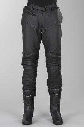 Spodnie skórzane IXS Tayler Czarny Kobieta