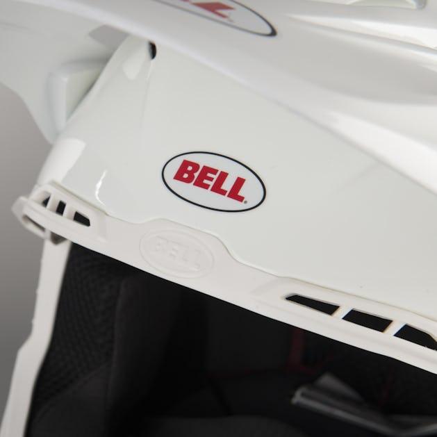 Bell Moto-9 Helmet Solid White