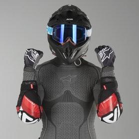 Acerbis Soft 3.0 Elbow Guards Black-Red