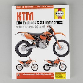 Haynes KTM Enduro & Motocross Manual