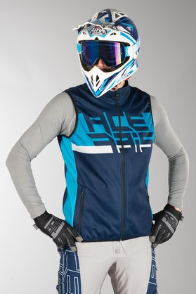 Acerbis X-Wind Softshell Vest Blue