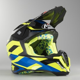 Airoh Twist Great MX Helmet Yellow Gloss