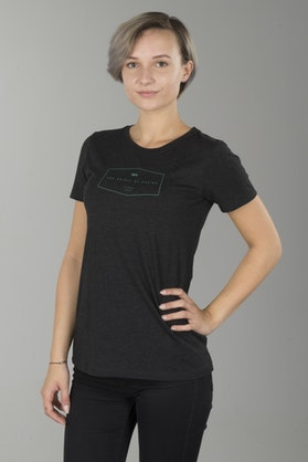 100% Ladies Saturn T-Shirt Black