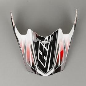 HJC RPHA X Silverbolt MC1 Helmet Shield Black-Red